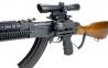 Кронштейн Leapers UTG боковой быстросъемный с 2-мя планками Weaver на Тигр, Сайгу, Вепрь 2