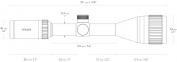 Оптический прицел Hawke Vantage IR 3-9*40 (22-HV 9X) 5