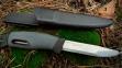 Нож для выживания с огнивом Swedish FireKnife (зеленый) 2