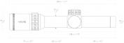 Оптический прицел Frontier 30 1-6*24 IR (L4A DOT) 2