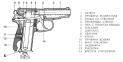 МР-654К-20 пистолет газобаллонный с обновленной рукоядкой (черный) 0