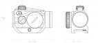 Оптический прицел Vantage RD 1*20 Weaver (3MOA DOT) 0