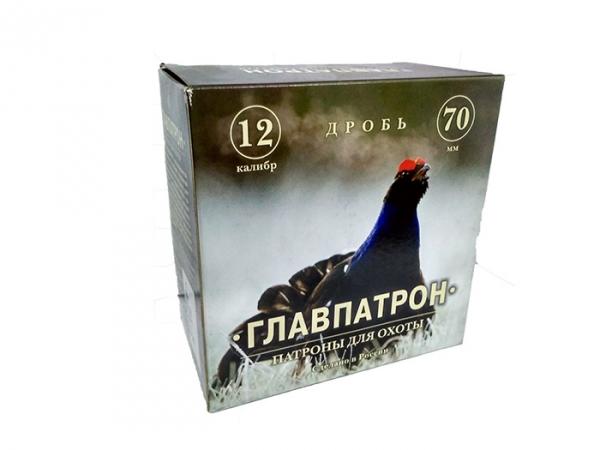 Патрон Главпатрон 12/70, Дробь №3 охотничий БК, 36 гр