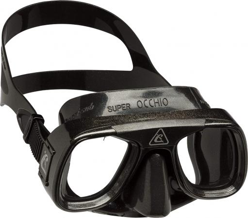 маска Superocchio черный - Cressi