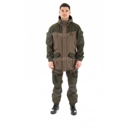 Летний костюм для охоты и рыбалки TRITON Горка (Хлопок 130гр, хаки)