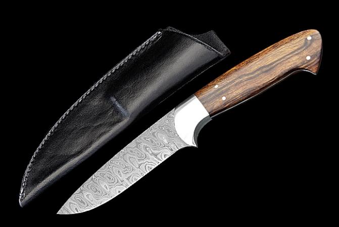 Нож Makura Serengeti Дамасская сталь