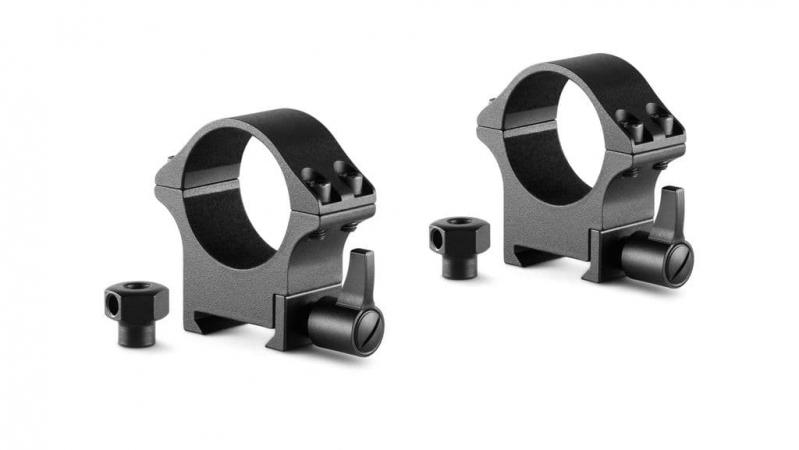 Профессиональные стальные кольца для крепления прицела Hawke Weaver/Picatinny 30 мм