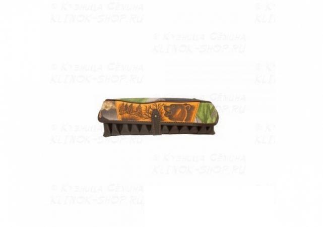 Патронташ охотничий двухрядный «№52» - 12 калибр - 24 патрона