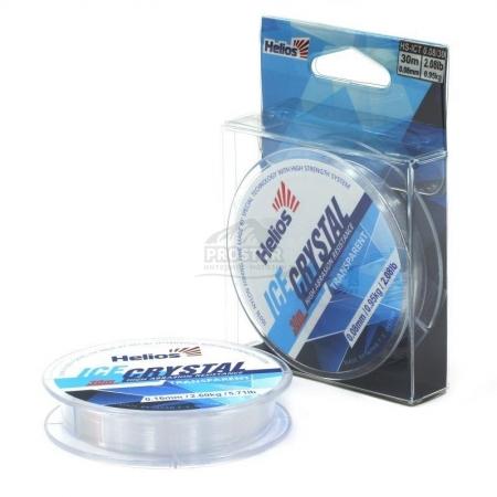Леска HELIOS ICE CRYSTAL Nylon Transparent 0.12-0.18мм/30 (HS-ICT 0,12/30)