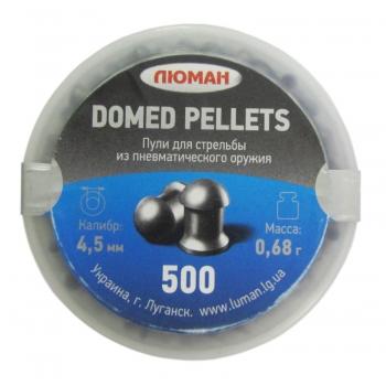 Пульки Люман Domen Pellets, кал. 4,5 мм, 0.68 гр, упак. 500 шт