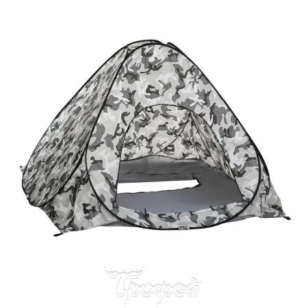 Палатка зимняя автомат 1,8*1,8 КМФ дно на молнии (PR-D-TNC-036-1.8)