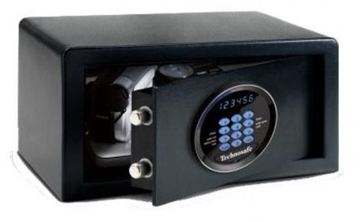 Сейф Technomax Hotel TSB/4HN (черный) электронный ключ, ш405*г410*в200мм, 14,5кг