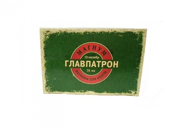 Патрон Главпатрон 12/76, Картечь 8,5 мм