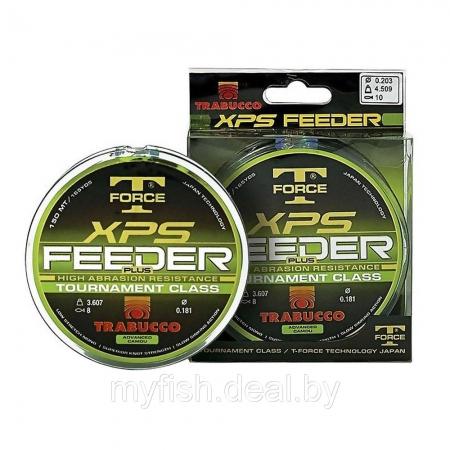 Леска монофильная Trabucco T-FORCE XPS FEEDER PLUS, 150м, 0.18мм, тест 3.61кг; (053-95-180)