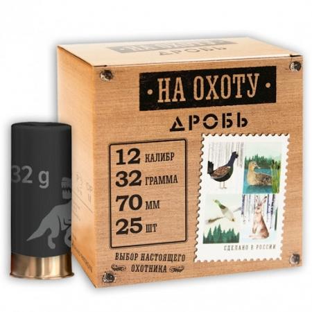 Патрон охотничий 12/70, Дробь №00, 32 гр