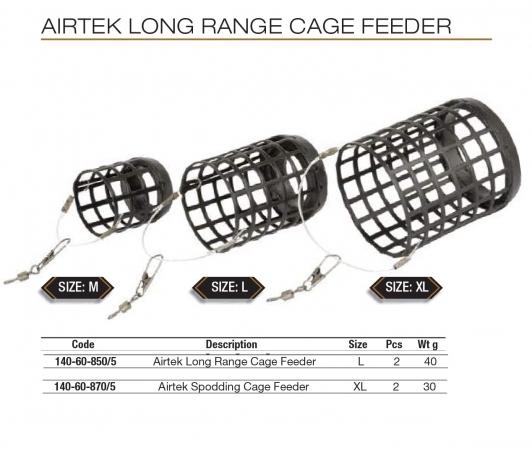 AIRTEK LONG RANGE CAGE FEEDER  140-60-870