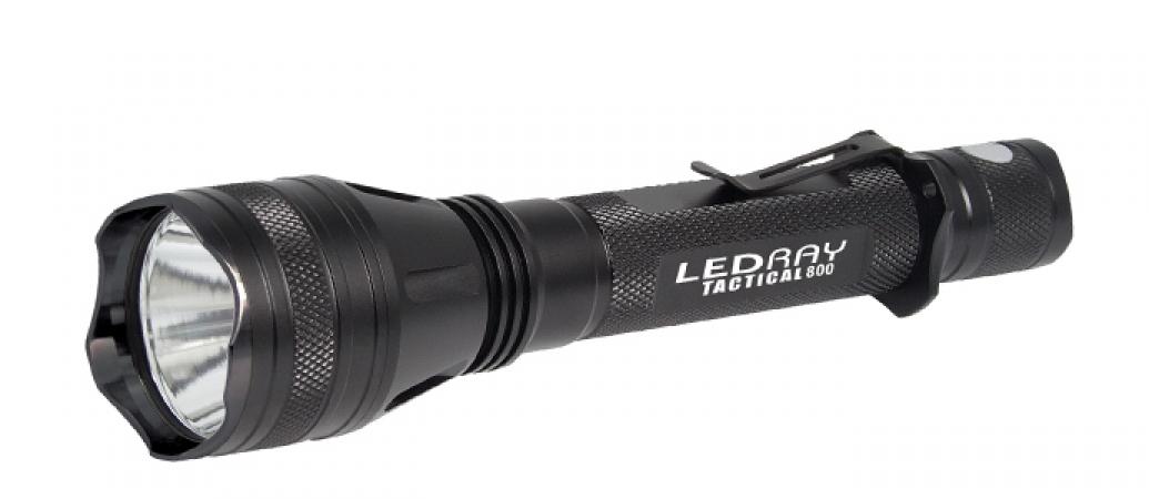 Фонарь Tracer LedRay Tactical ES800 450 lumens