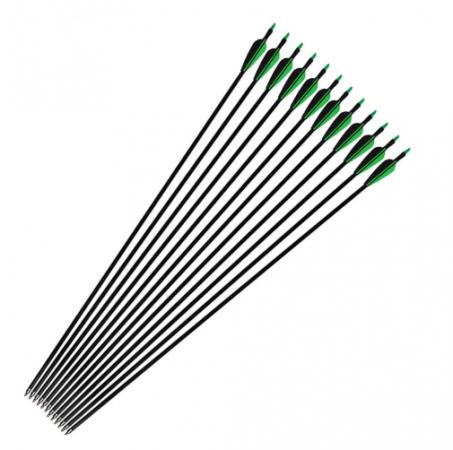 Стрелы 80см зеленые