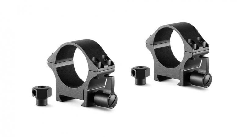 Профессиональные стальные кольца держателя прицела Hawke Weaver/Picatinny 30 мм низкое