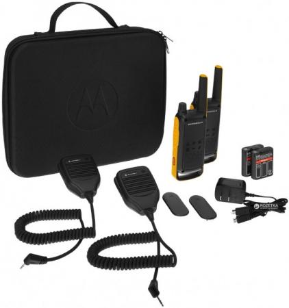 Комплект из четырех радиостанций Motorola T82 EXTREME QUAD (TALKABOUT)