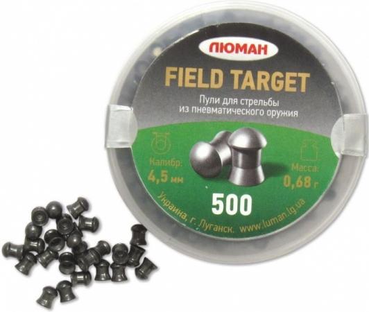 Пульки Люман Field Target, кал. 4,5 мм, 0.68 гр, упак. 500 шт