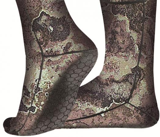 Cressi противоскользящие носки 2,5 мм, камуфляж