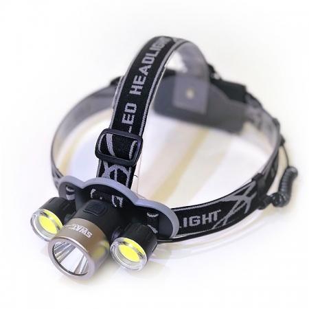Фонарь налобный H1203 USB