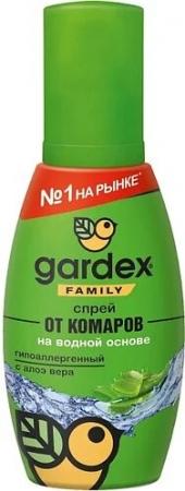 Спрей от комаров Gardex Family от комаров, 100мл