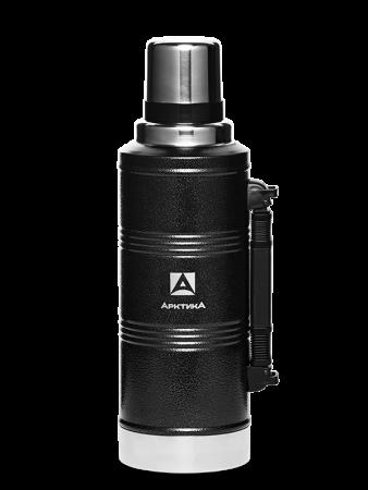 Термос бытовой, вакуумный для напитков тм Арктика 2200мл черный