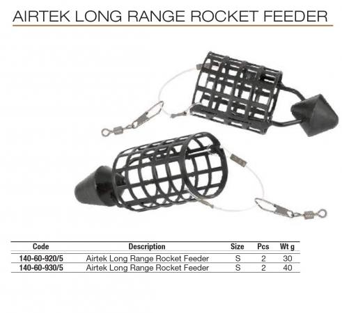 AIRTEK LONG RANGE ROCKET FEEDER 140-60-920