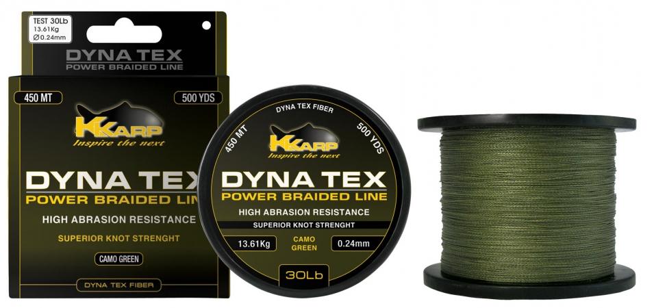 Шнур капроновый для рыбной ловли (леска) K-Karp DT Power Braid 500/5 30/0