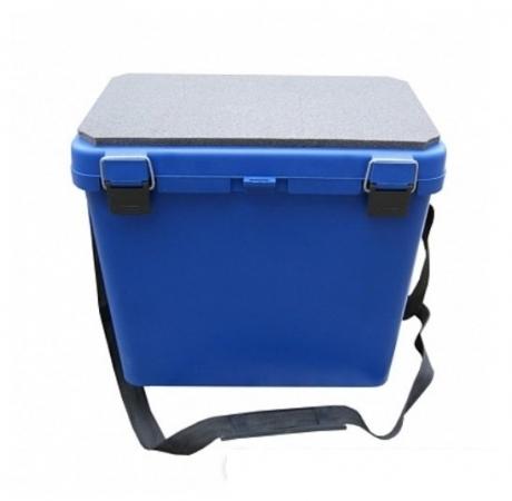 Ящик-М зимний односекционный (синий) Helio