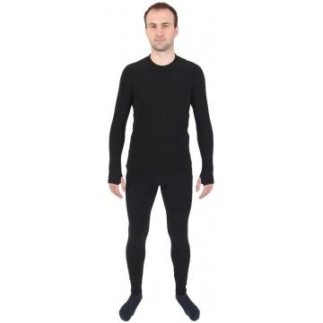 Комплект THERMO-FLEECE флис, размеры L, XL черный