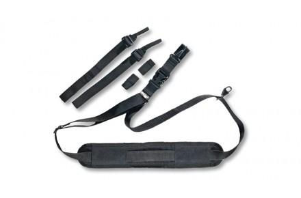 Ремень тактический трехточечный с плечевой накладкой (р-27)