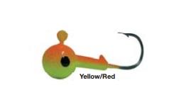 Джиг-головка Trabucoo Round Jig 25 гр Yellow/Red (187-76-325)
