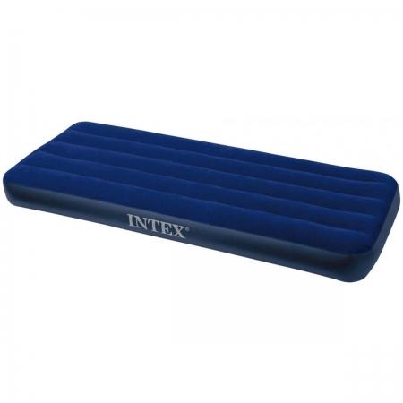 Матрас кемпинговый флок 76х191х25 см (64756) INTEX