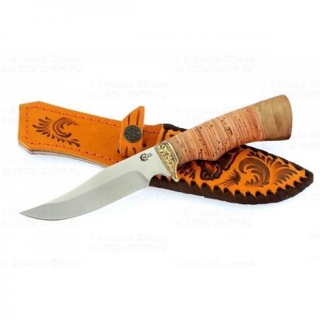 Нож Юнкер ст 65*13 береста/литье
