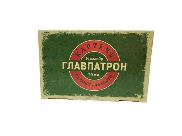 Патрон Главпатрон 16/70, Картечь 5,6 мм