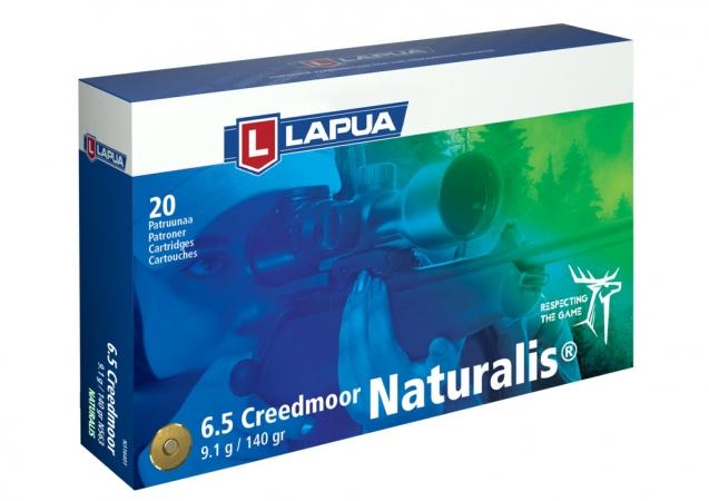 Патрон Lapua 6.5 Creedmoor N563 9,1 г/140 гр Naturalis