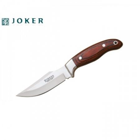 Нож из нержавеющей стали c кожаной оболочкой Gamo (CR40)