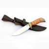 Нож из нержавеющей стали 65х13 «лазутчик» с рукоятью из эластрона