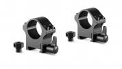 Стальные кольца для крепления прицела Hawke Professional, Weaver / Picatinny, 1 дюйм, средний размер