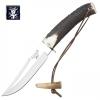 Нож из нержавеющей стали c кожаной оболочкой (CC72)