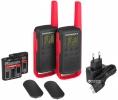 Комплект из двух радиостанций Motorola T62 RED (TALKABOUT)