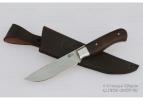 Кованый цельнометаллический нож из стали Х12МФ «Соболь»