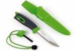 Нож для выживания с огнивом Swedish FireKnife (зеленый)