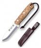 Нож туристический в кожаном чехле CL115 (10см)