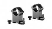 Профессиональные стальные кольца для крепления прицела Hawke Weaver / Picatinny 1